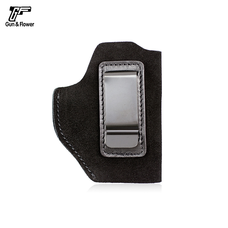 Gunflower Universal Suede IWB Concealed Carry Leather Holster Fit Most Popular Large & Medium Size Pistols