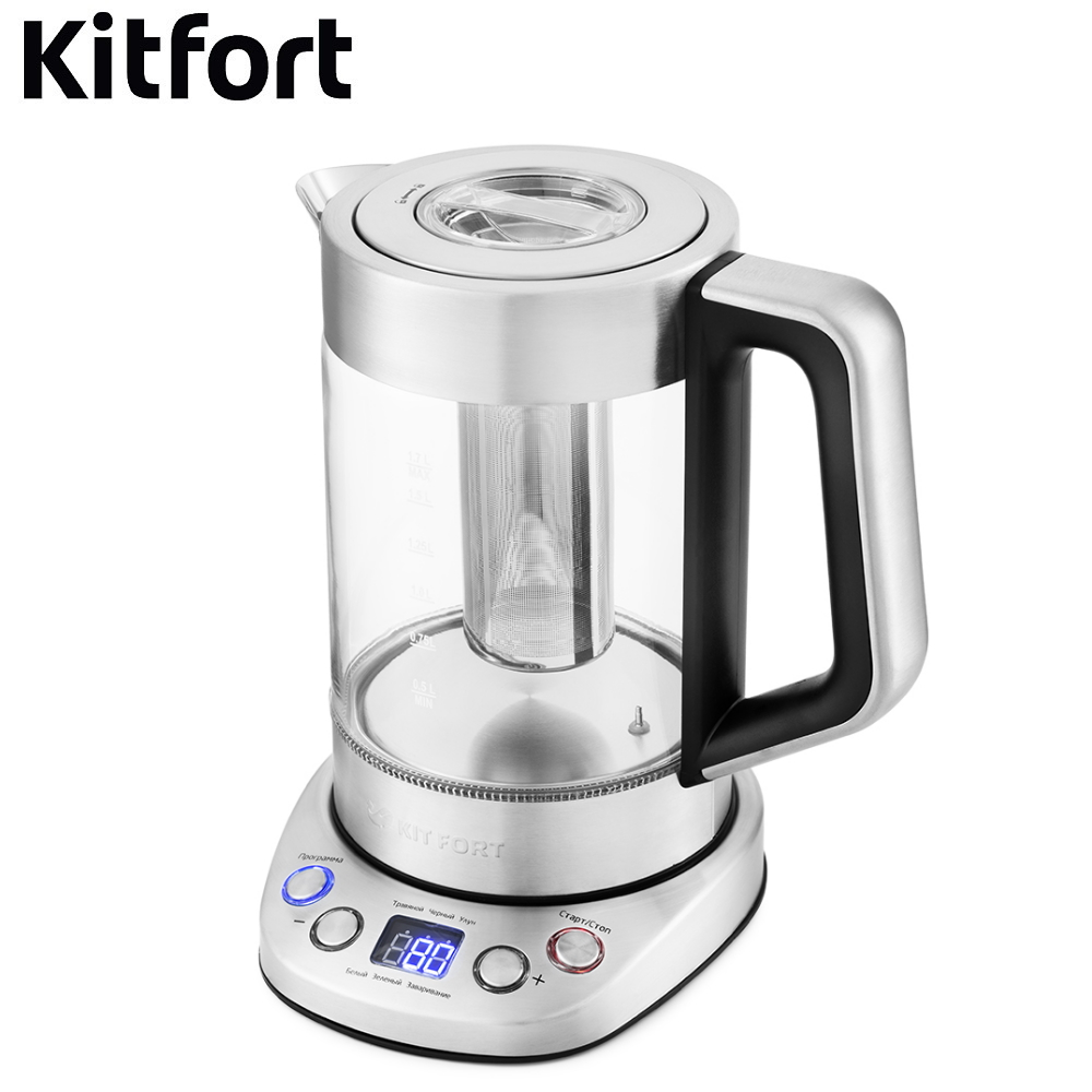 Kettle Kitfort KT-651 Kettle Electric Electric kettles home kitchen appliances kettle make tea Thermo electric kettle kitfort kt 654 kettle electric electric kettles home kitchen appliances kettle make tea thermo