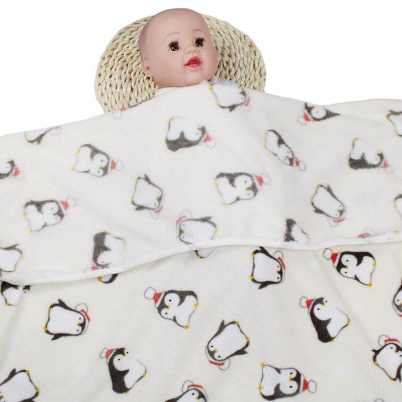 Одеяло для новорожденных, хлопковое зимнее детское Пеленальное Одеяло 73*100 см, мягкое зимнее одеяло для новорожденных - Цвет: Color 10