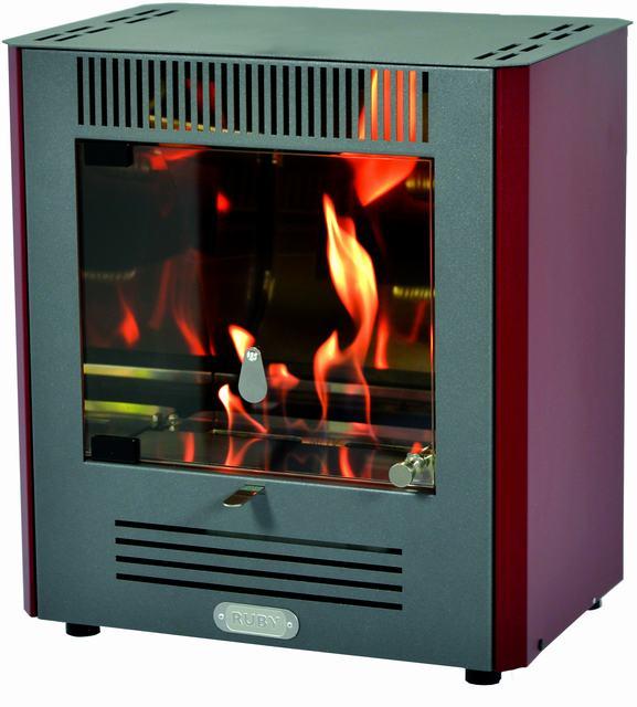 Bio Ethanol Fireplace Stove Mini Ruby-decorative, Lightweight, Compact And Elegant-no Installation, No Electricity, No Smoke.