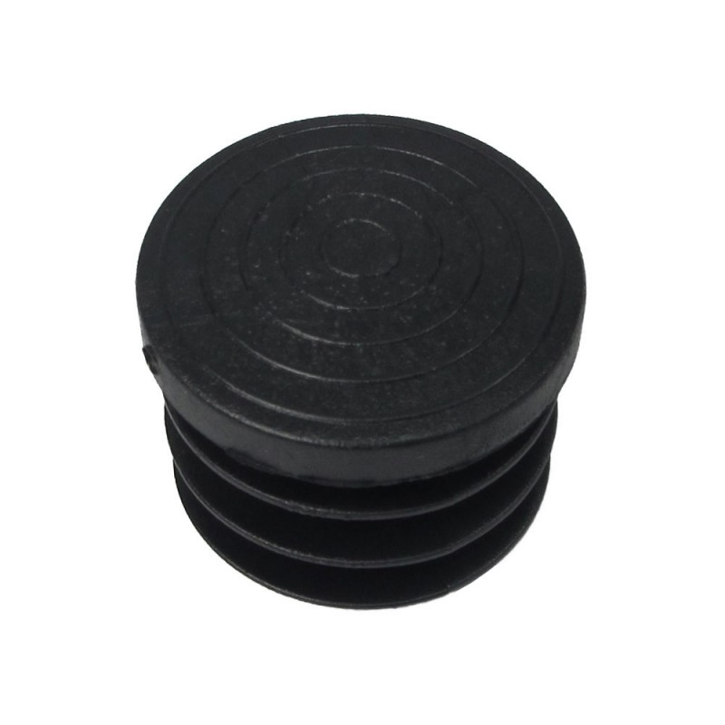 Cone Round Black 32mm. Blister 4 PCs.