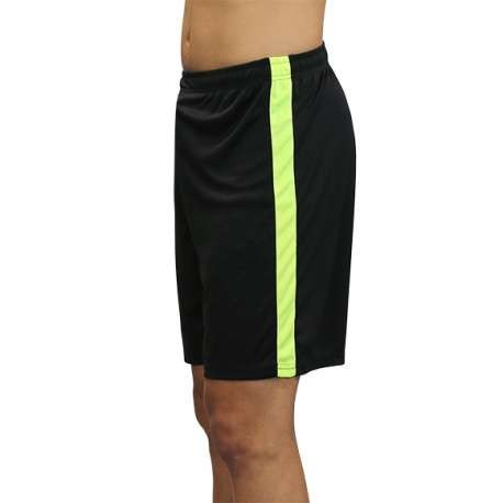 PANTALON SOFTEE BASKET RO ADULTO - TALLA XXL - COLOR NEGRO Y AMARILLO FLUOR