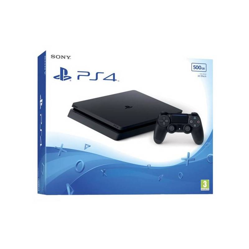 Play Station 4 Sony 88876 500 GB Black