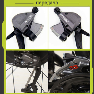 Image 5 - 늑대의 송곳니 전기 자전거 지방 산악 자전거 알루미늄 합금 26 인치 27 속도 48V 1000W 모터 16AH ebike 스노우 자전거 지방 타이어