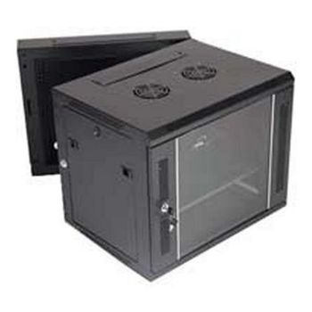 Wall-mounted Rack Cabinet Monolyth 203030 15 U 600 x 550 mm 1F-2V-2L Black