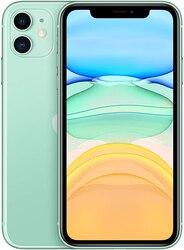 Telefon Apple iPhone 11, Grün Farbe (Grün), 4 GB RAM, 256 GB Internen Speicher, LCD Display Flüssigkeit Retina HD
