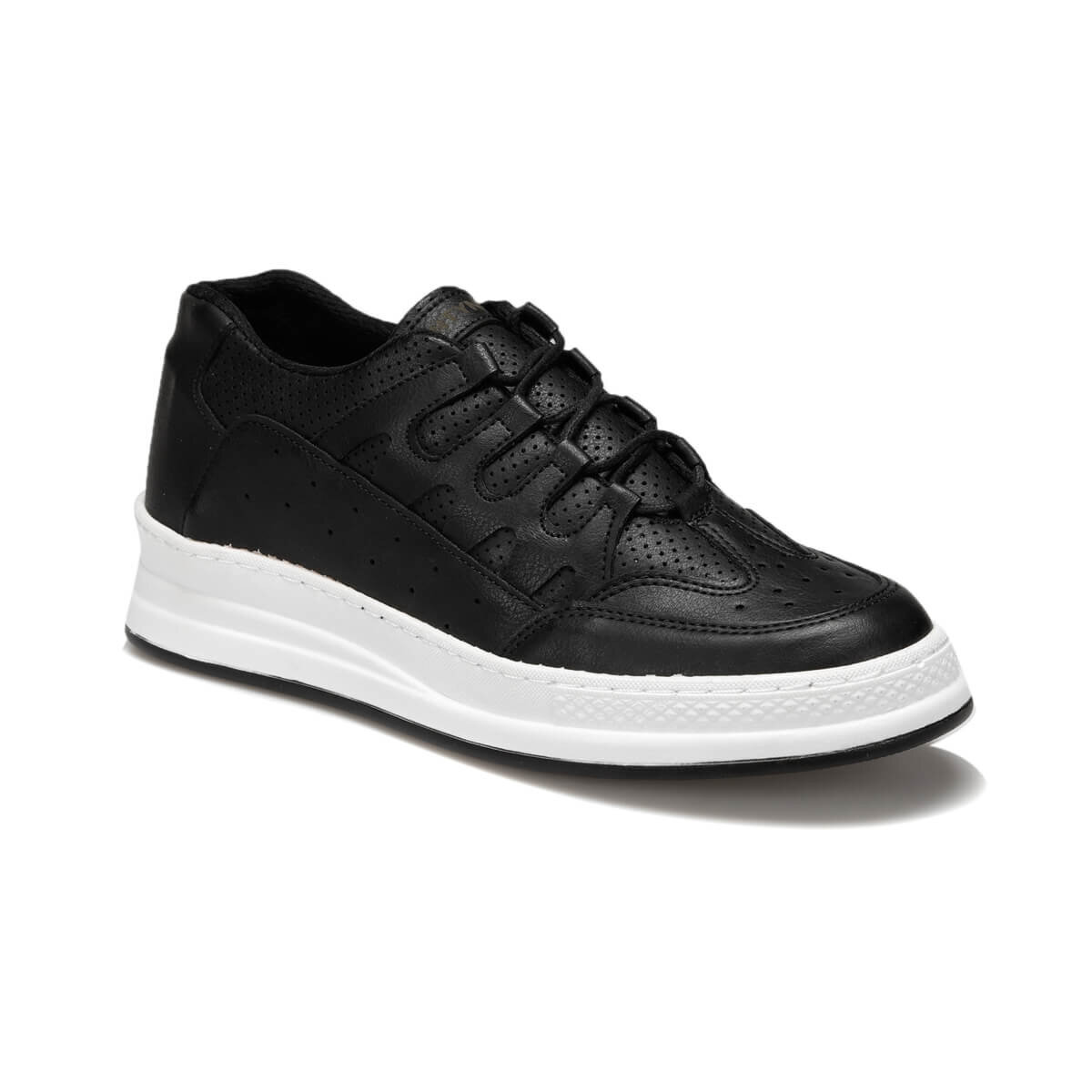 FLO ELM-1 Black Male Shoes Forester