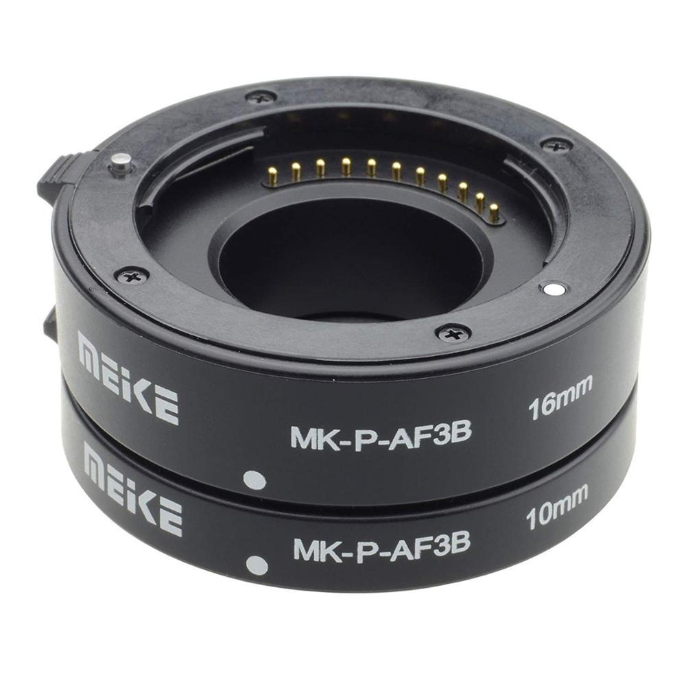 Meike Plastic Macro Auto Focus Extension Tube Ring AF For Panasonic Olympus M43 Mount G2 G3 GH4 GH5 GF2 GF3 GF5 GX1 EP1 EP2 EP3