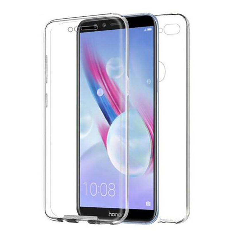 Stand Case Double 360 ° For HUAWEI HONOR 9 LITE Front + Back Clear
