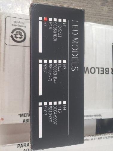 AILEO 2x Canbus Error Free Led H7 faros bajo haz CSP Chips para VW Golf 6 Golf 7 Passat Touran Tiguan T-ROC 72W 8000LM 6000K