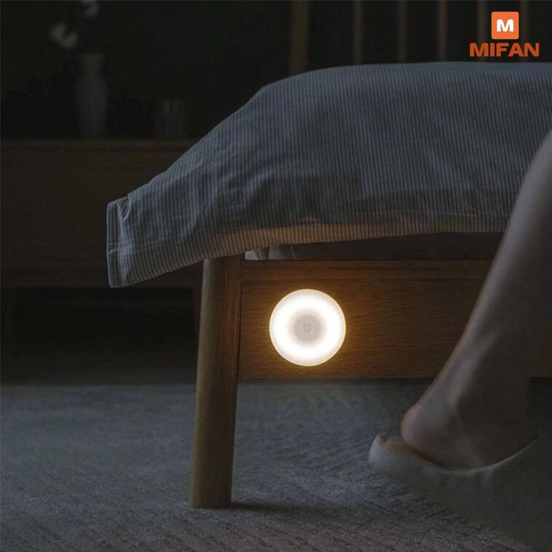 Led Induction Night Light 2 360 Rotating Adjustable Brightness Infrared Smart Motion Sensor With Magnetic Base