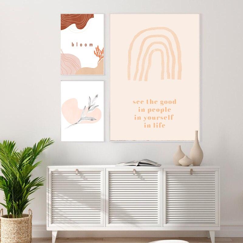 Line Drawing Abstract Wall Print