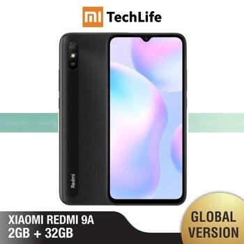 Купить Глобальная версия Xiaomi Redmi 9A 32 ГБ ROM 2 Гб RAM (абсолютно новый/Герметичный) redmi9a, redmi9a 32, мобильный телефон, телефон,Смартфоны