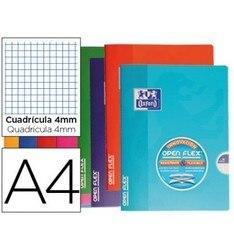 Школьная книга Оксфорд Кепка Гибкая ОПТИК бумага OPENFLEX 48 листов 90 гр DIN A4 Таблица 4 мм Цвета Ассорти 10 единиц