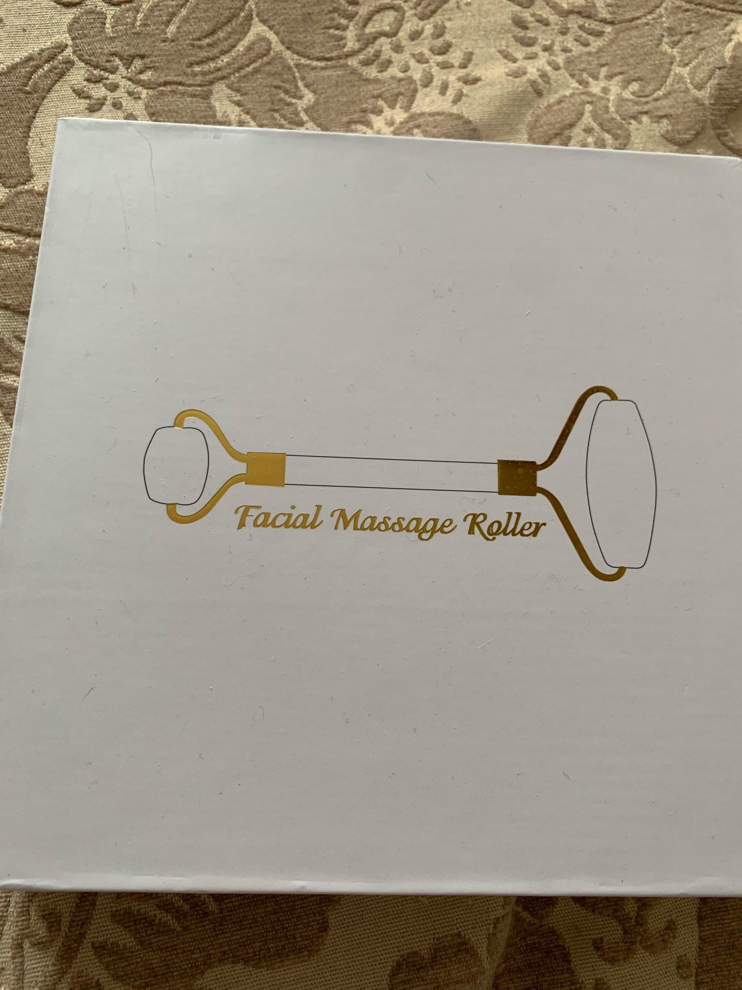 Kit Rolo de jade Massagem Facial Perfect Skin photo review