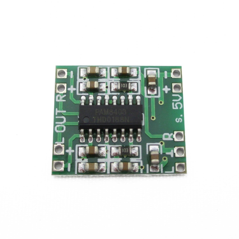 Ultra-Miniature Digital Amplifier Board 2*3W D-Type PAM8403 500pcs lot pam8403dr pam8403 pam8403 8403 pam sop16