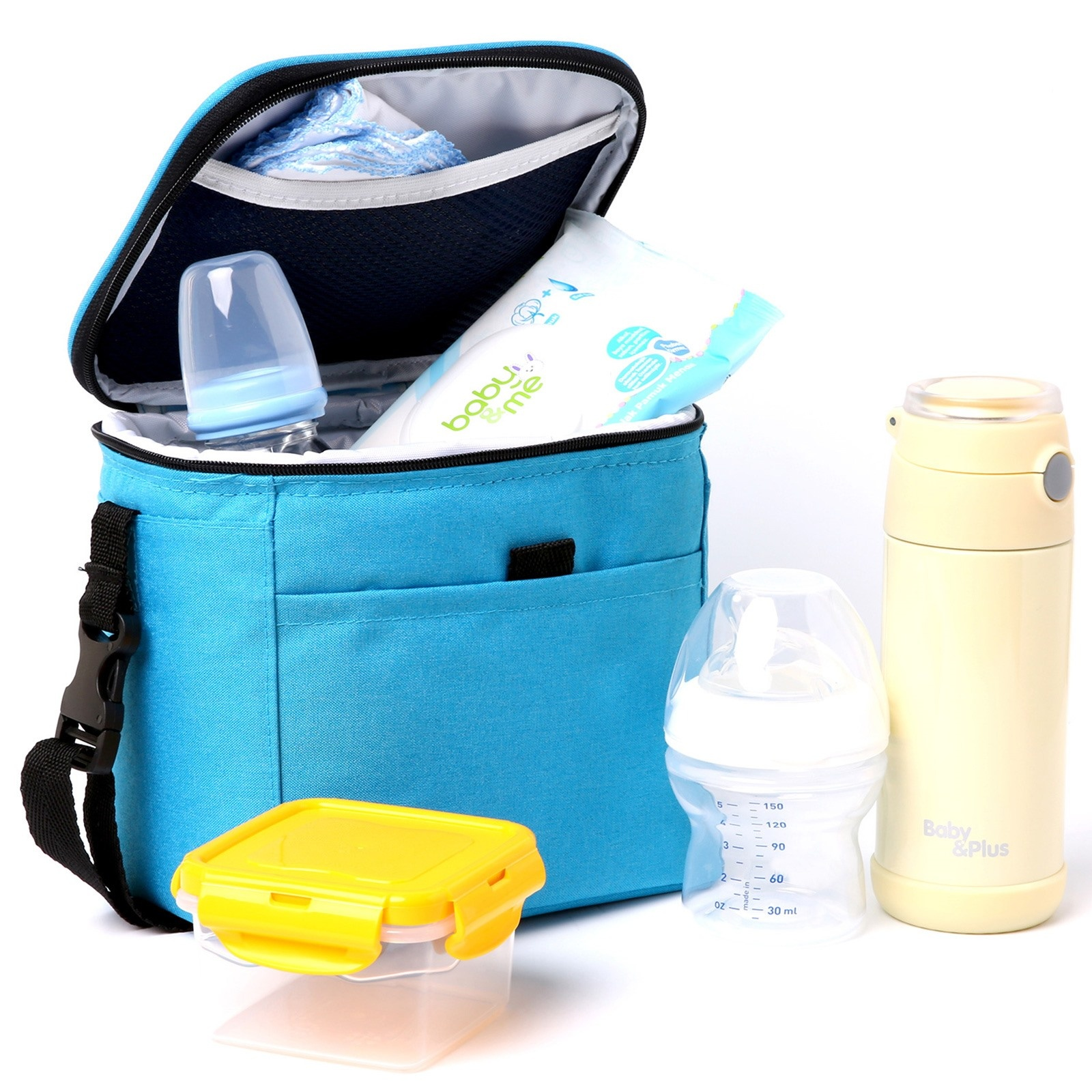 Ebebek Baby&plus Thermal Food And Baby Bottle Protector Care Bag