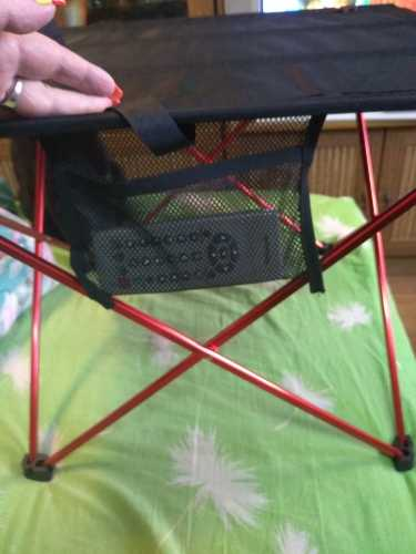 Отзывы о Сверхлегкий складной стол из алюминиевого сплава, маленький размер, портативный складной стол для кемпинга, пикника