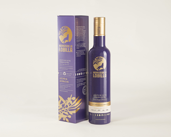 Extra virgin olive oil, limited edition, Lechin and wild olive, Herriza de la Lobilla, product of Spain