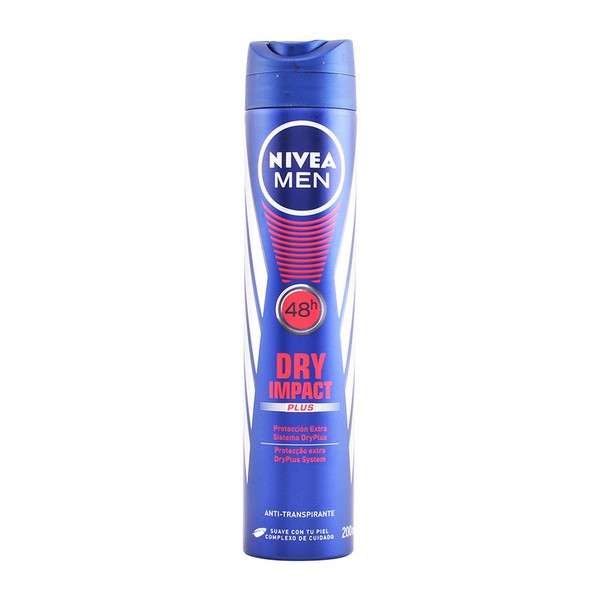 Spray Deodorant Men Dry Impacto Nivea