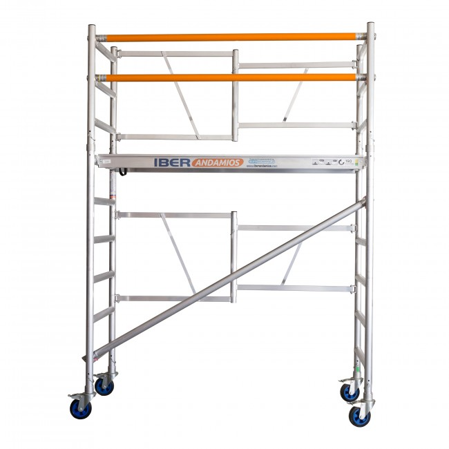 SCAFFOLDING Folding Aluminum IBER SCAFFOLDING S High Altitude Working 3,85 M