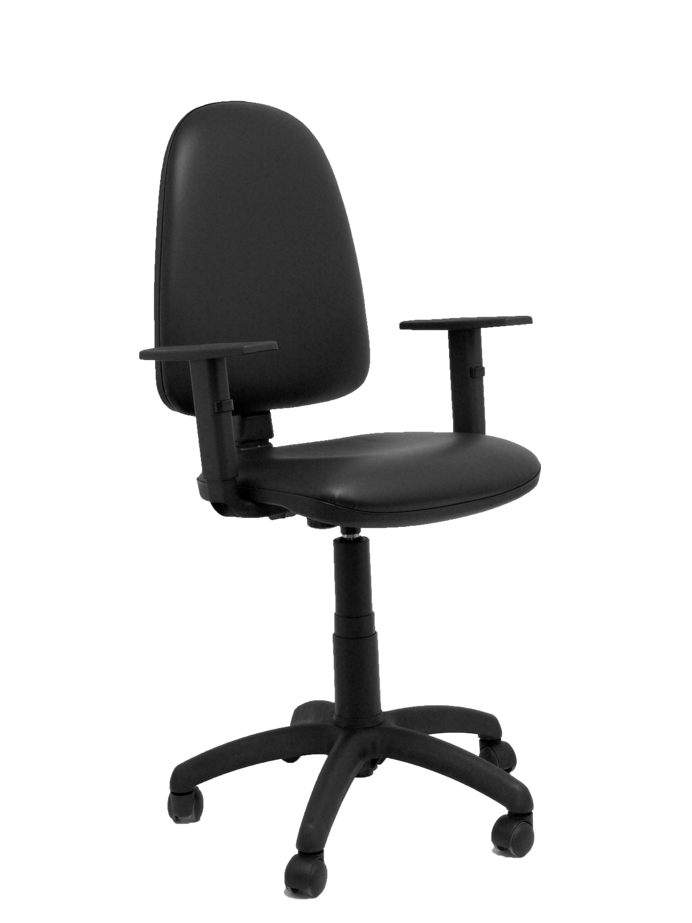 Ergonomic Office Chair With Mechanism Permanent Contact And Adjustable Height-Seat And Backrest Cushion And