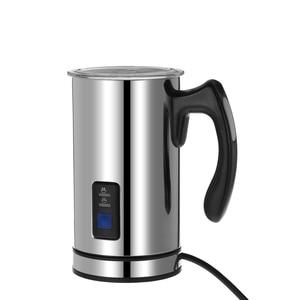 Image 5 - Homgeek Elektrische Milchaufschäumer Schäumer Aufschäumen Von Milch Wärmer EU Schaum Kaffee Maker Maschine Latte Cappuccino Blase melkopschuimer