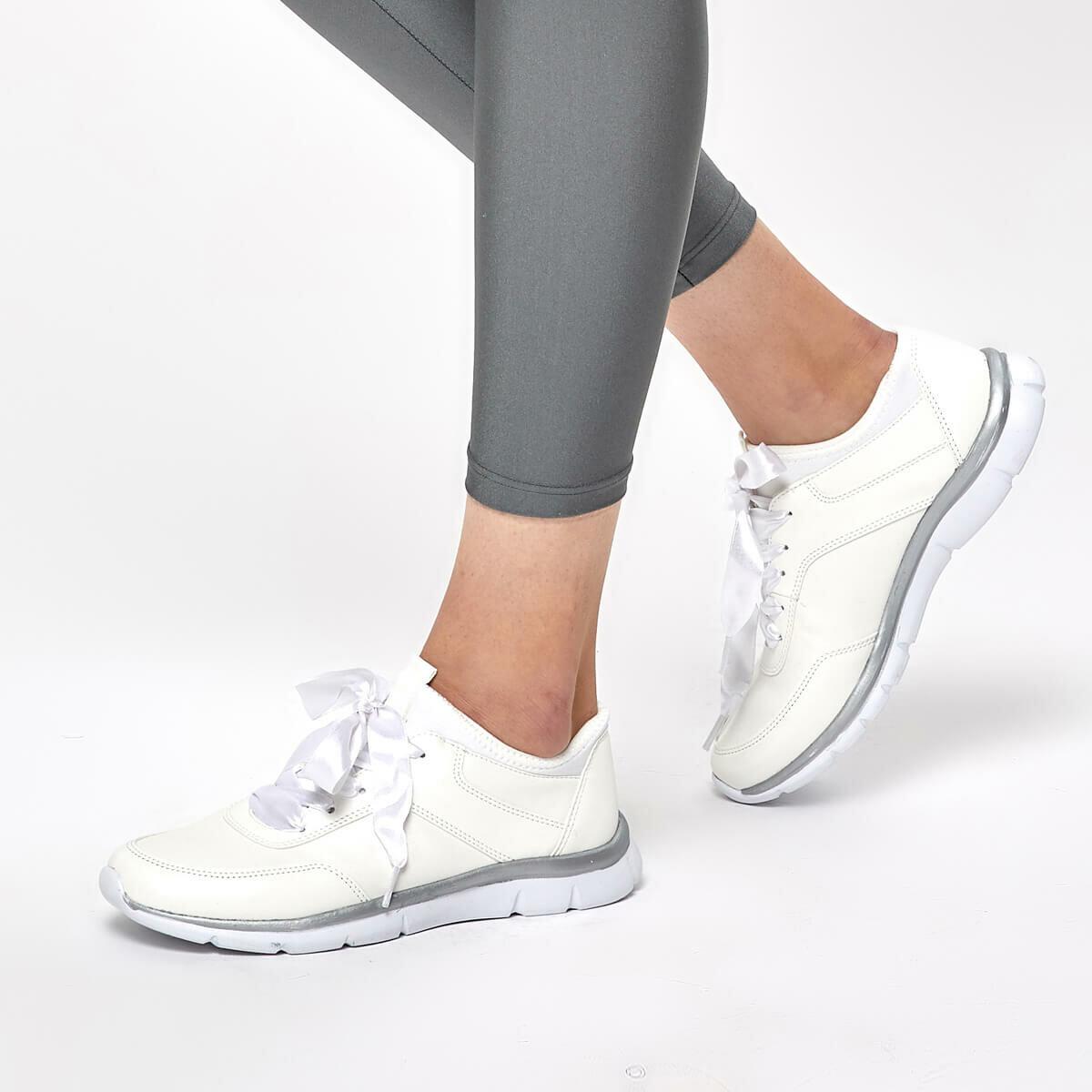 FLO 91.313311.Z White Women 'S Shoes Polaris