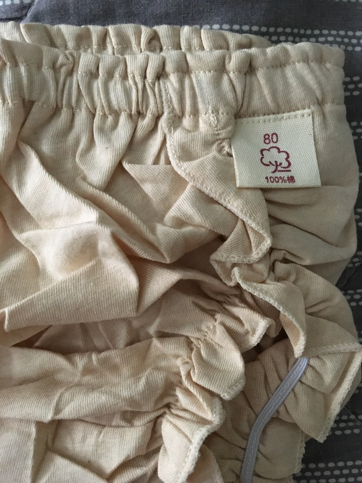 Girl fashion solid color lace Cotton Underpants Infant The diaper pants Baby Leisure Triangle pants Child Bread pants PP pants photo review