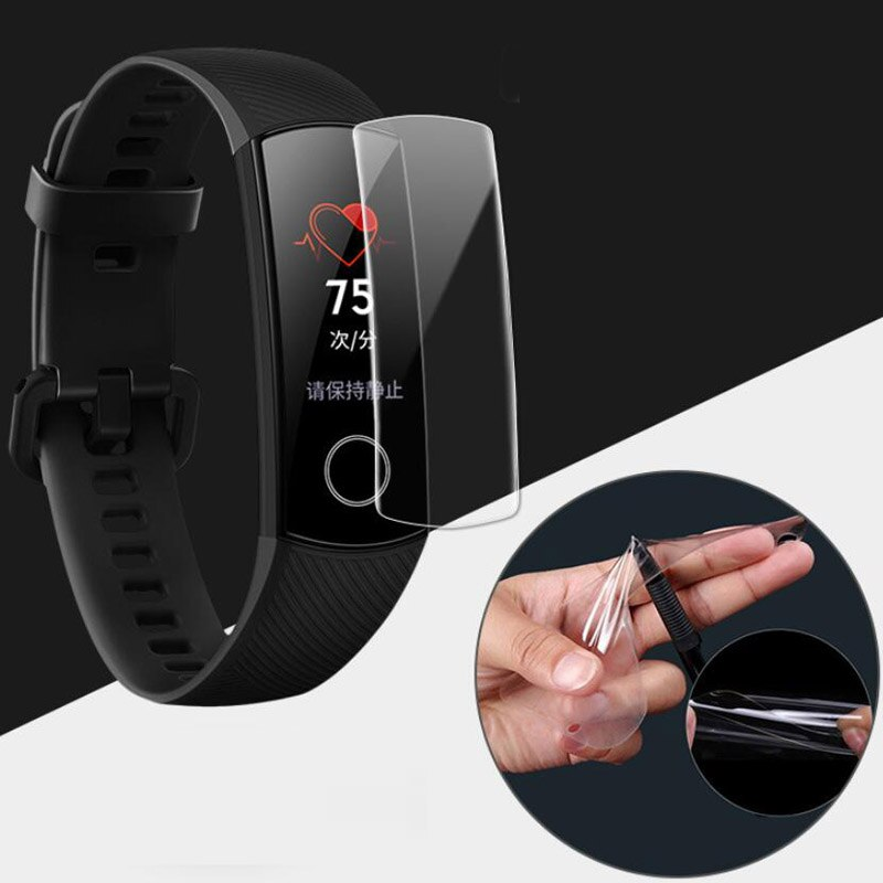 Hydrogel Protective Film For Fitness Tracker HONOR BAND 5, Screen Protection Fitness Tracker HONOR BAND 5