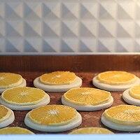 爆汁香橙曲奇,满满的维C的做法图解12