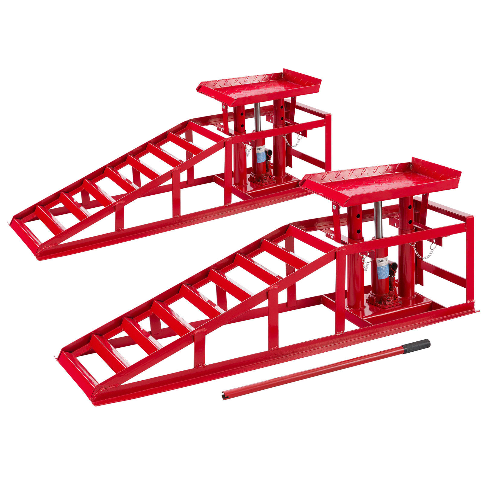 Heavy Duty Hydraulic Car Ramp Lift 2 Ton x 2 Units наклейка blue horse 30 x 10 a4 144