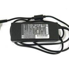 Адаптер к ноутбуку HP Compaq (4,5 мм, 3,0 мм, 19.5 V, 4.62 А), тонкий, с иглой, б/у