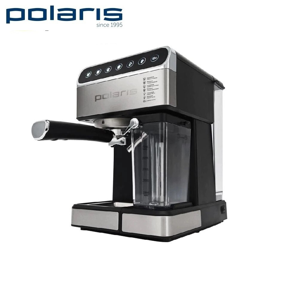 Coffee Maker Polaris PCM 1535E kitchen automatic pump Coffee machine espresso Coffee Machines Coffee maker Electric coffee maker delonghi eci 341 kitchen automatic pump coffee machine espresso coffee machines coffee maker electric