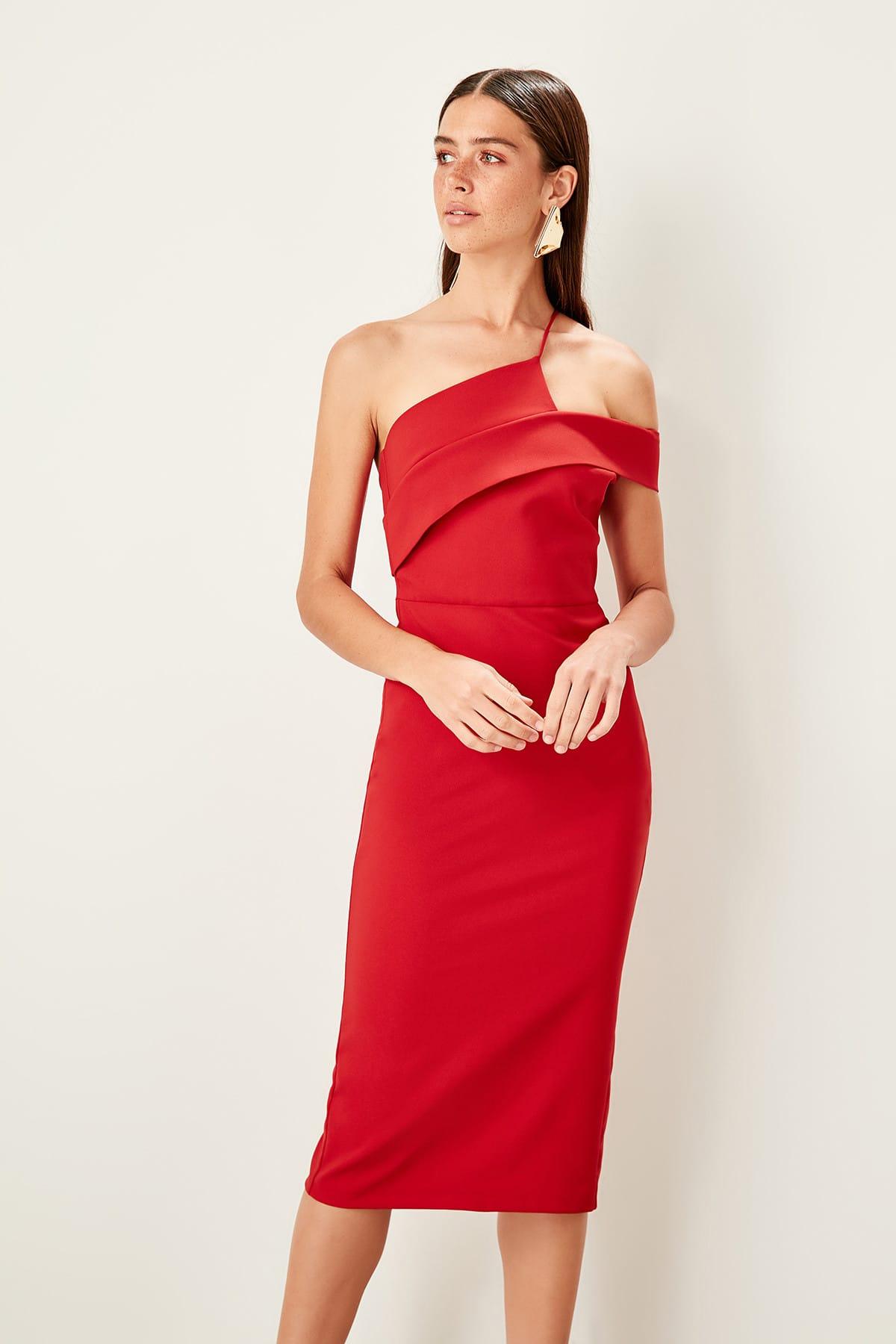 Trendyol Strap Detail Dress TPRSS19BB0041