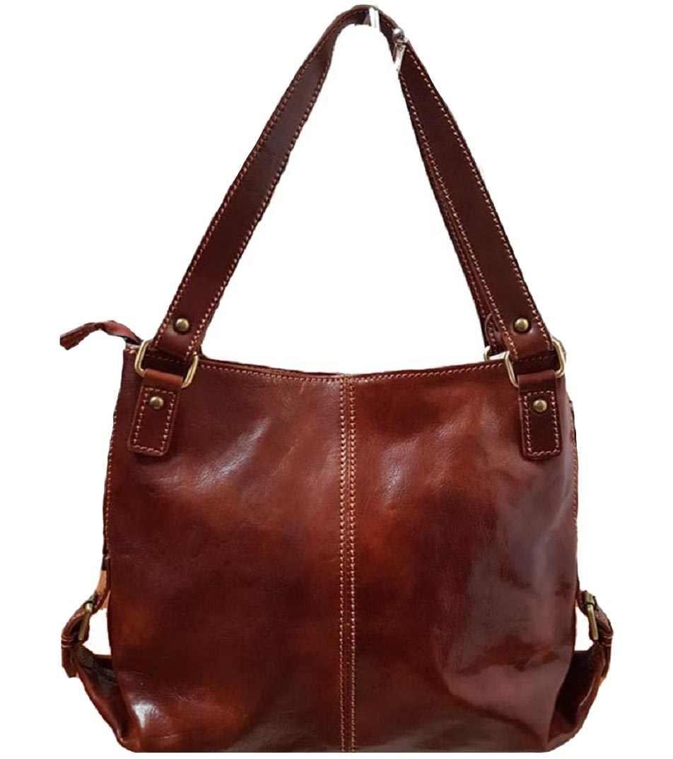 Женская кожаная итальянская сумка Bottega Carele BC208