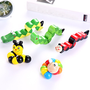 Image 1 - Educational Toys 3D Puzzle Wooden Toys Kids Educational Toy Baby Hand Toy Wooden Cartoon Animal Montessori Toys Children Gift