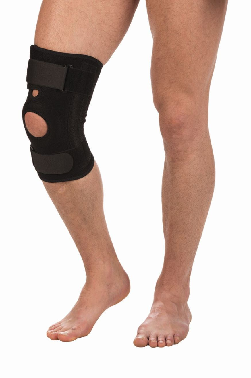 Бандаж на коленный сустав со спиральными ребрами жесткости Т 8512 Тривес Налокотники и наколенники    АлиЭкспресс