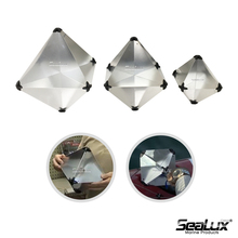 Sealux Aluminum Radar Reflector 215 x 215 x 300 Reflecting area 3m2 for Boat Safety Yacht