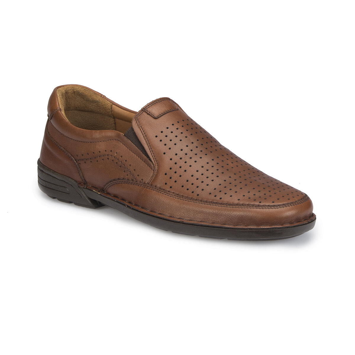 FLO 81.110451.M Tan Men 'S Classic Shoes Polaris 5 Point