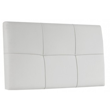 Headboard Square white or Choco 100 and 160 cm wide