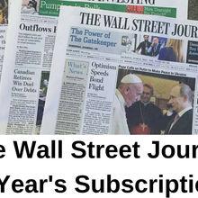 Wall Street Journal Sub scri ption 5 Yea rs All Platfor ms - Region Free (WSJ)