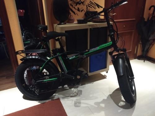 Bicicleta elétrica Bikeebike Reforço Bicicleta