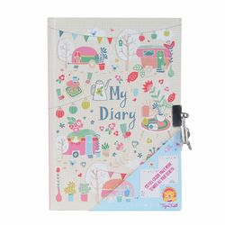 Personal Diary with lock Caravan