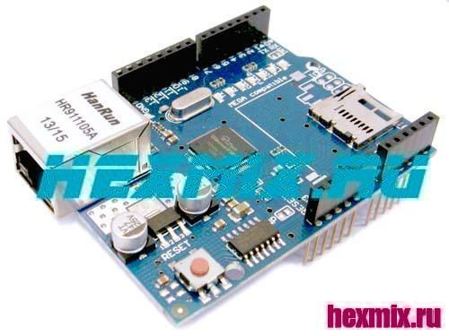 Ethernet Shield W5100 Expansion Module For Arduino