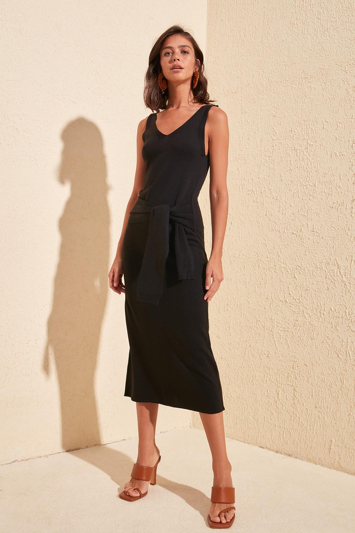 Trendyol Gusset Knitwear Dress TWOSS20EL1802
