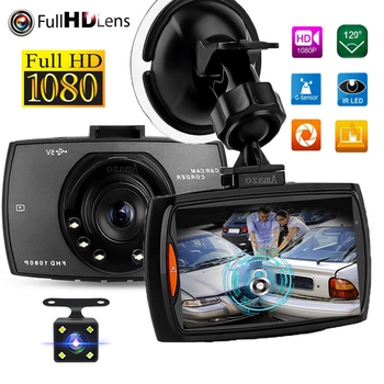 G30 Dash Cam Video Recorder 1080P Car DVR  Dashcam Cycle Recording Night Vision Wide Angle Video Registrar 1