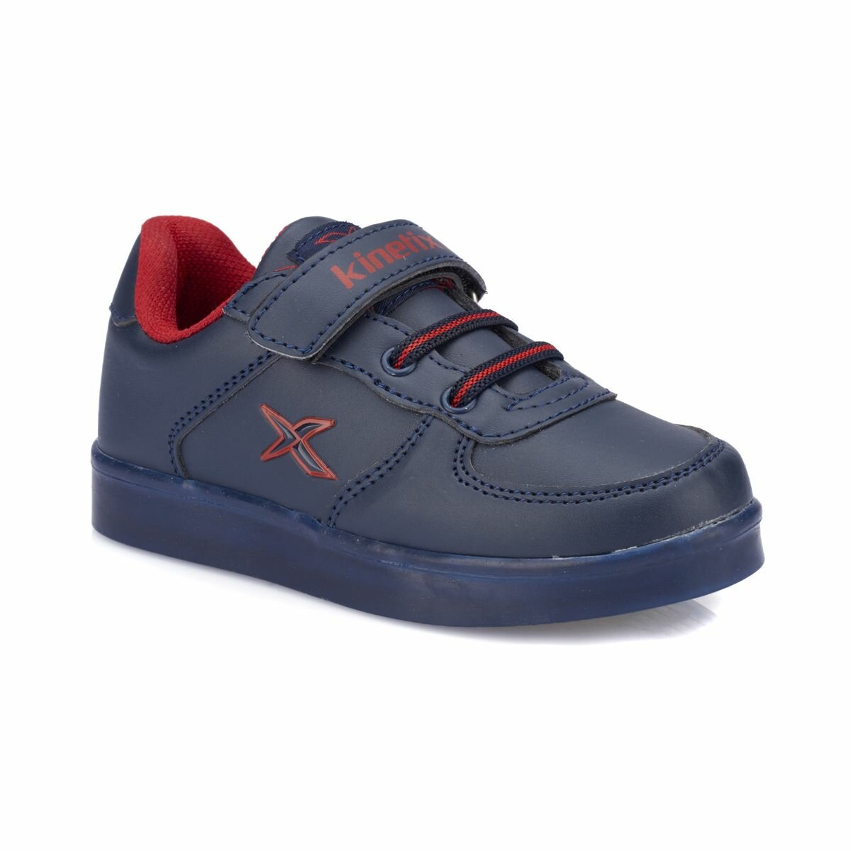 FLO FERGIE Navy Blue Male Child Sneaker Shoes KINETIX