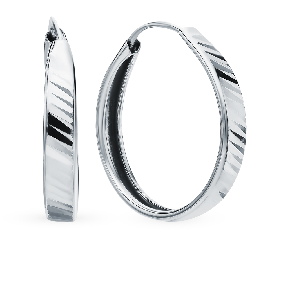 Silver Sunlight Earrings Sample 925
