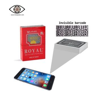 Royal Marked Playing Cards for Poker Analyzer, Anti Cheat Poker, Magic Tricks Decks, Anti Cheating Playing Cards недорого